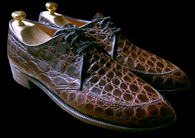 veritable crocos, comme on en fabrique plus par Edwin Clapp, USA
